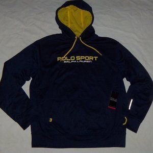 New Mens POLO Sport Ralph Lauren Pullover Hoodie L